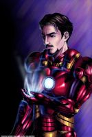 Alone in the dark-Iron Man by syren007