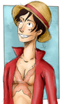 Luffy by Sh-Achtung