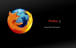 Firefox 3 Wallpaper by AnakinStupaine