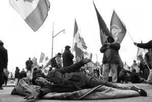 Sit-in by BenoitAubry
