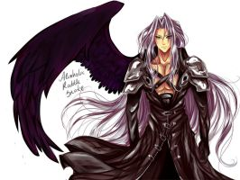 Sephiroth by AlcoholicRattleSnake