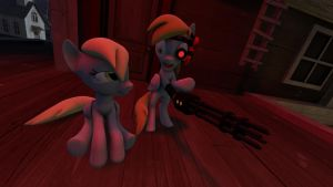 [SFM] Derpy and Derpigun by Blood-Striker