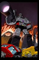 What If Megatron Colors Done Low Res by BDixonarts