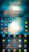 N900 Maemo Round Theme by devi-cry