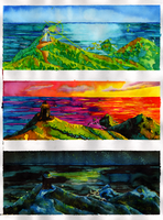 Lighthouse - colour study by Lykorias