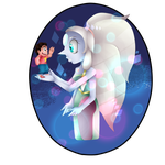 Giant Mom - Opal And Steven by XxCookie-SquirrelxX