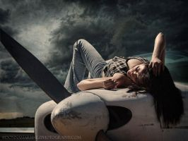 She rides the skies by fotophi