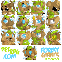 PETRPG.COM - Forest Giant Pets by Z0MB13S