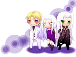 Commission #12: FFVII Chibi: OrionFantasy: by ImoExploder007