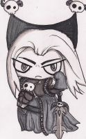 40k Mephiston............chibi-ed by N-Chiodo