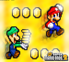 New Super Mario Bros. 2: Get All The Coins by FaisalAden