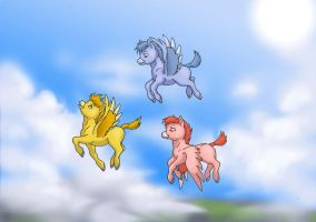 Fantasia baby pegasus by Lizzy23