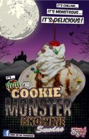 Cookie Monster Brownie Blizzar by rink05