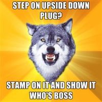 Step on upside down plug by Zodiax3