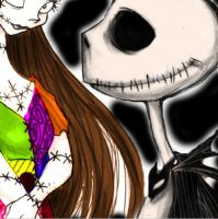 jack and sally by cat109542