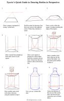 Quick Guide- Drawing Bottles in Perspective by Fyuvix