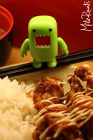 Domo and Food by MikeRaats