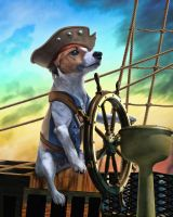 Capt. Jack Russell by Maurautius