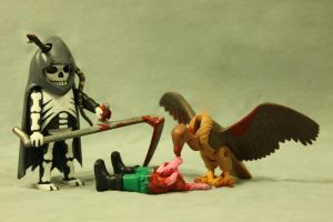 Z.A.P. 2 Day 8 The Grim Reaper by zombiemonkie