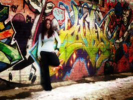 Graffiti Alley by ZaLiTHkA