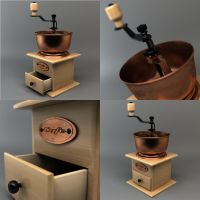 Coffee Grinder by Phr0sty