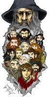Baggins, Party of 15 by TheDandyDragon
