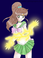 Sailor Jupiter gift by izka197
