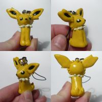 Jolteon Cellcharm by ChibiSilverWings