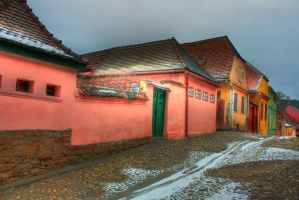 Side View of the Street by mariustipa