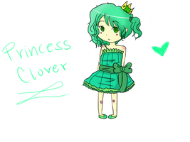 Princess Clover - Adventure Time OC by squiidgy