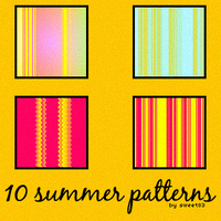 10 summer patterns by Sweet83