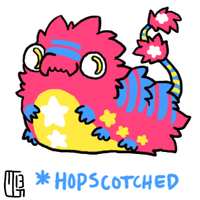 CUSTOM Foodlie - hopscotched by MGMaguire
