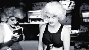 Pauley as Abby being Marilyn by Dave-Daring