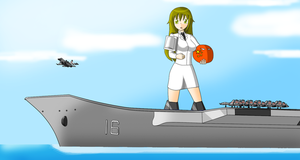 LiaoNing aircraft carrier mecha musume-China ball by redcomic