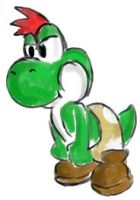 Yoshi by Huckles