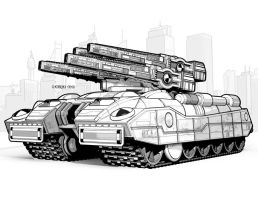 Claymore MBT by StephenHuda