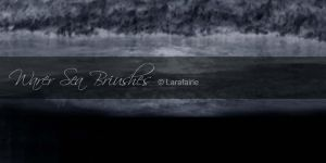 Larafairie-Waterseabrushes by larafairie-stock