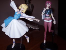 Gundam Seed Destiny Figures by KittyChanBB