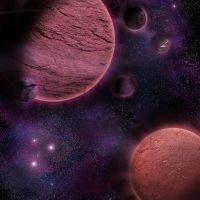 Purple Planets by Christina-The-Weird