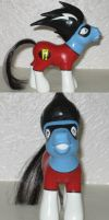 Freakazoid My Little Pony by sarixthelost
