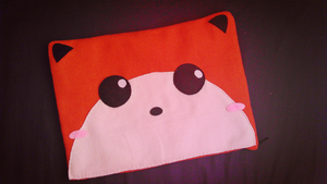 Fox Laptop Sleeve by judithchen