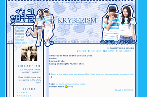 KRYBER LIVEJOURNAL THEME 1.0 by Amberfied