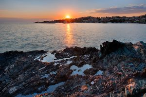 When Sun kissed the Sea by Bojkovski