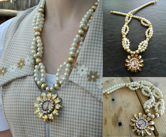 Flower of Paris Necklace by DOC-Ash1391