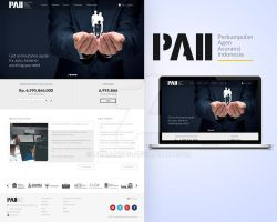 PAII website design by mbah-weng