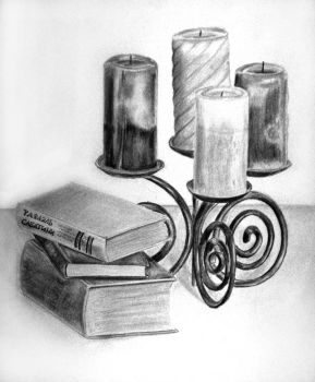 :: books + candles :: by WitheringReality