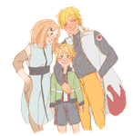 Naruto AU - Power Family by Kirabook