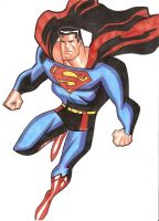superman bruce timm style by CHUBETO