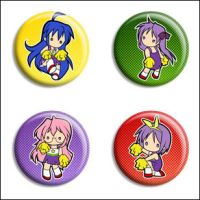 Lucky Star Buttons by Maxx-V