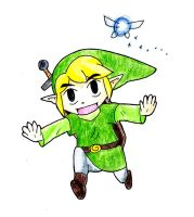 Toon Link by Trinosaur